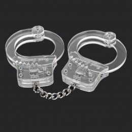 Fifty shades of grey SM Transparent Simulation Handcuffs