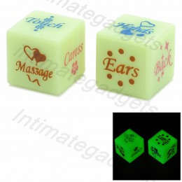 17mm Sex Adult Fun Dice Special Flirt (2 PCS)