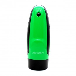 Jeusn Green Fire 10 Frequency Electric Masturbator For Him (Grow Numb Pleasure)