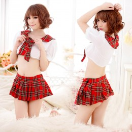 Cute Student Style Cosplay Dress