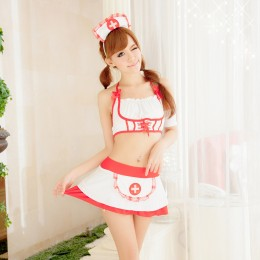 Charming Nurse Suit Sleepwear Lingerie