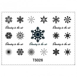 Funny Skull Snowflake Cat Star Body Art Tattoo Stickers 5 Styles/lot