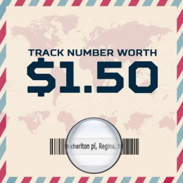 Tracking Number Worth $1.5