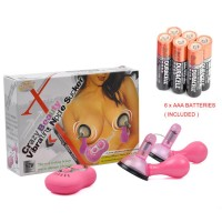 Crazy Love Vibrating Nipple Sucker + 6 x AAA Batteries