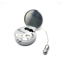 Discretion™ Cosmetic Box-type Mini Massager - Silver