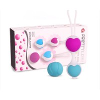 PrettyLove Silicone Kegel Ball For Women - 4Pcs Set