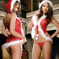 Hot Christmas Sexy Lingerie for Women