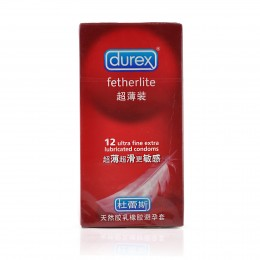 Durex Fetherlite Ultra Thin Condoms (12 pack)