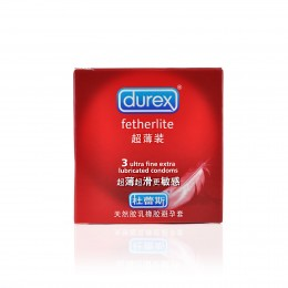 Durex Fetherlite Ultra Thin Condoms (3 pack)