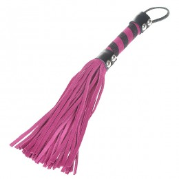 Fifty shades Soft Intimate Leather Short Whip with Strap (Color Assorted)