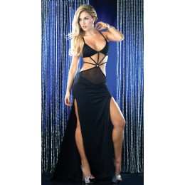 Dazzling Strappy Cut Gown