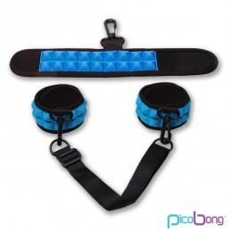 PicoBong Resist No Evil Cuffs-Blue