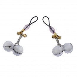Fifty Shades Weighted Nipple Clasps Ring Fetish Set