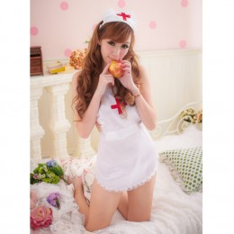 Flirt Bedroom Nurse Apron Cosplay Dress
