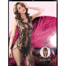 Spandex Lace Sheer Body Stocking