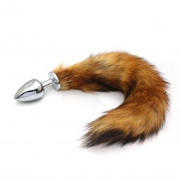 Frisky Fox Tail Anal Plug - S