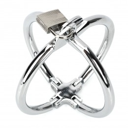 Fifty shades of grey Exquisite Metal Cross Wrist Cuffs For Male