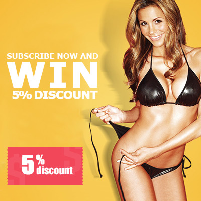 Subscribe now and win 5% discount!