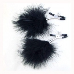 Feather Nipple Clamps - Black