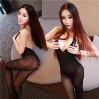 Sexy Backless Sheer Lingerie Stockings Sexy Body Stocking
