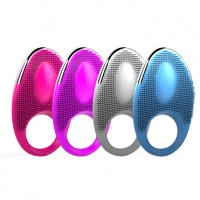 Dibe® 20-Speeds Vibration Cock Ring for Couple(usb charging)