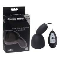 Aphrodisia® Climax Delay Stimulate Glans Vibrating Male Masturbator Stamina Trainer 10 Speeds Vibration Sex Toys for Man