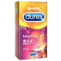 Durex MagiBox Pleasure Collection Condoms Variety Pack(18 pack )