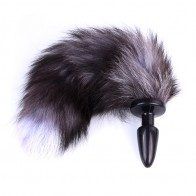 Fox Tail Silicone Anal Plug for Women