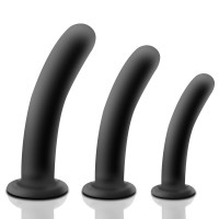 Intimate 100% Silicone Anal Butt Dildo with Suker G-Spot Anal Massager for Women/Men
