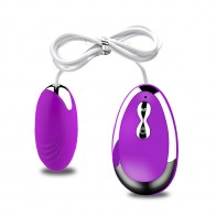 XXOO® 20 Speed Powerful Vibrating Egg Remote Control Vibrator Bullet Silicone Clitori Stimulator Sex Toy for Women