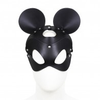 Intimate® Leather Cute Mickey Mouse Mask Headband For Men/Women