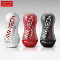 TENGA® AIR-TECH Squeeze Vagina Real Pussy Men's Masturbation Cup (REGULAR/GENTLE/STRONG)