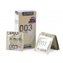Okamoto 003 Real Fit Condoms (10 pack)