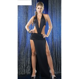 Seductive Halter Gown