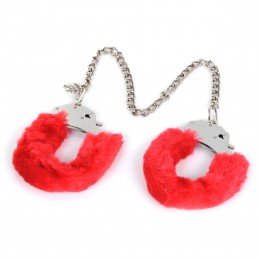 Fifty shades of grey Fabulous Furry Feet Cuffs - Red