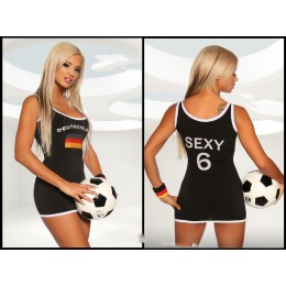 German Soccer Player Costume