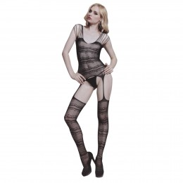 Enticing See-thru Sheer Garter Bodystockings