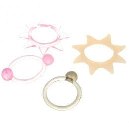 Massager Rings Set (4-Pack/Assorted)