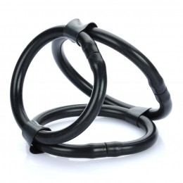 Cock Cage Silicone Time Delay Rings